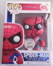 POP Amazing Spider-man 2 Figure Signed Stan Lee Excelsior COA Marvel Comics